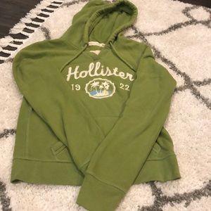Green Hollister Sweatshirt